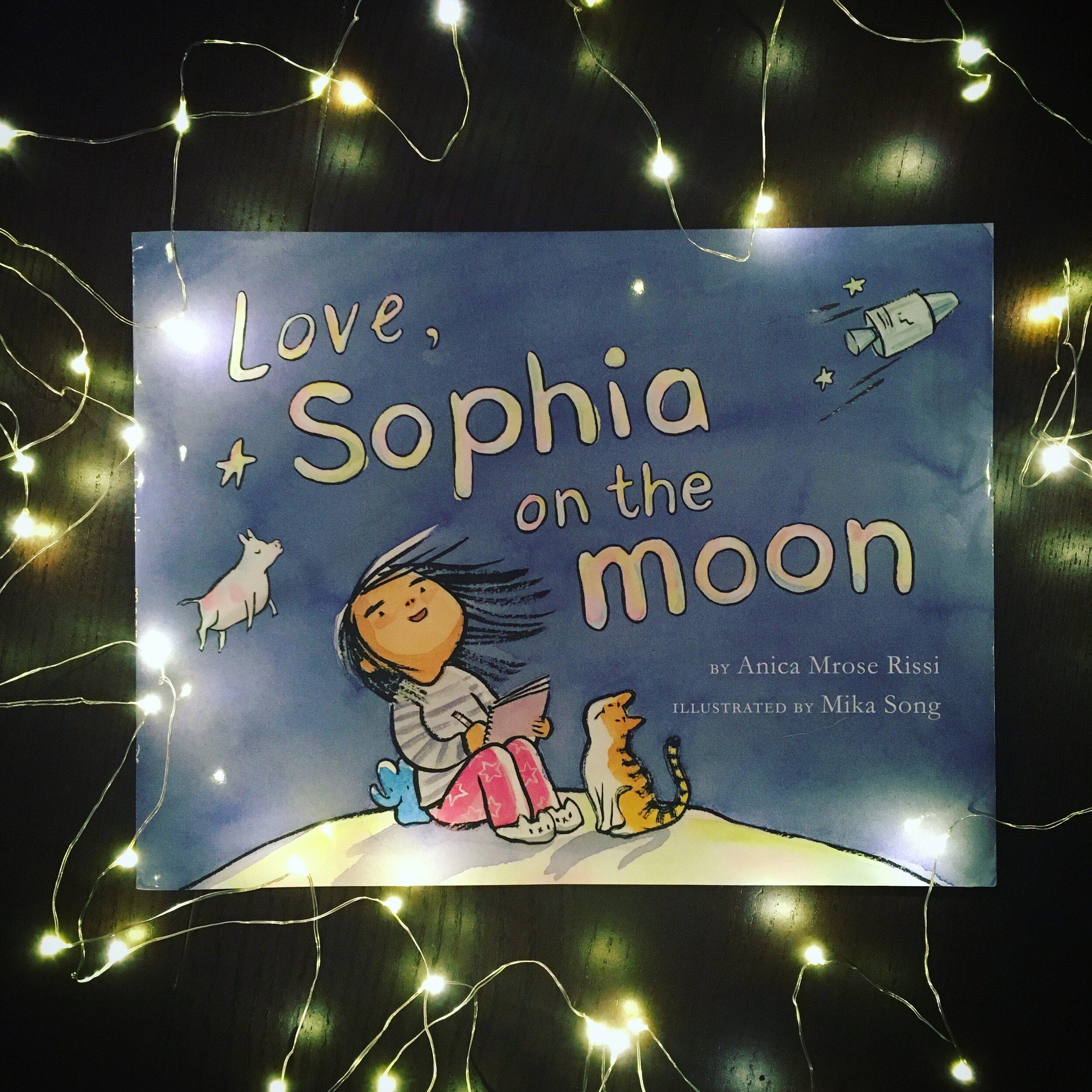 Life on earth isn't fair, so Sophia is off to the moon…
