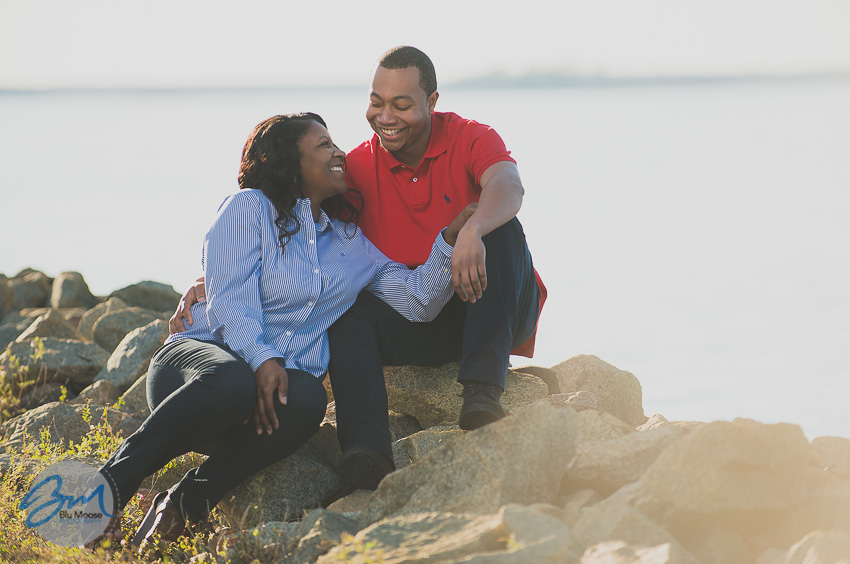 Moncks Corner Lake Moultrie Engagement Session-11.jpg
