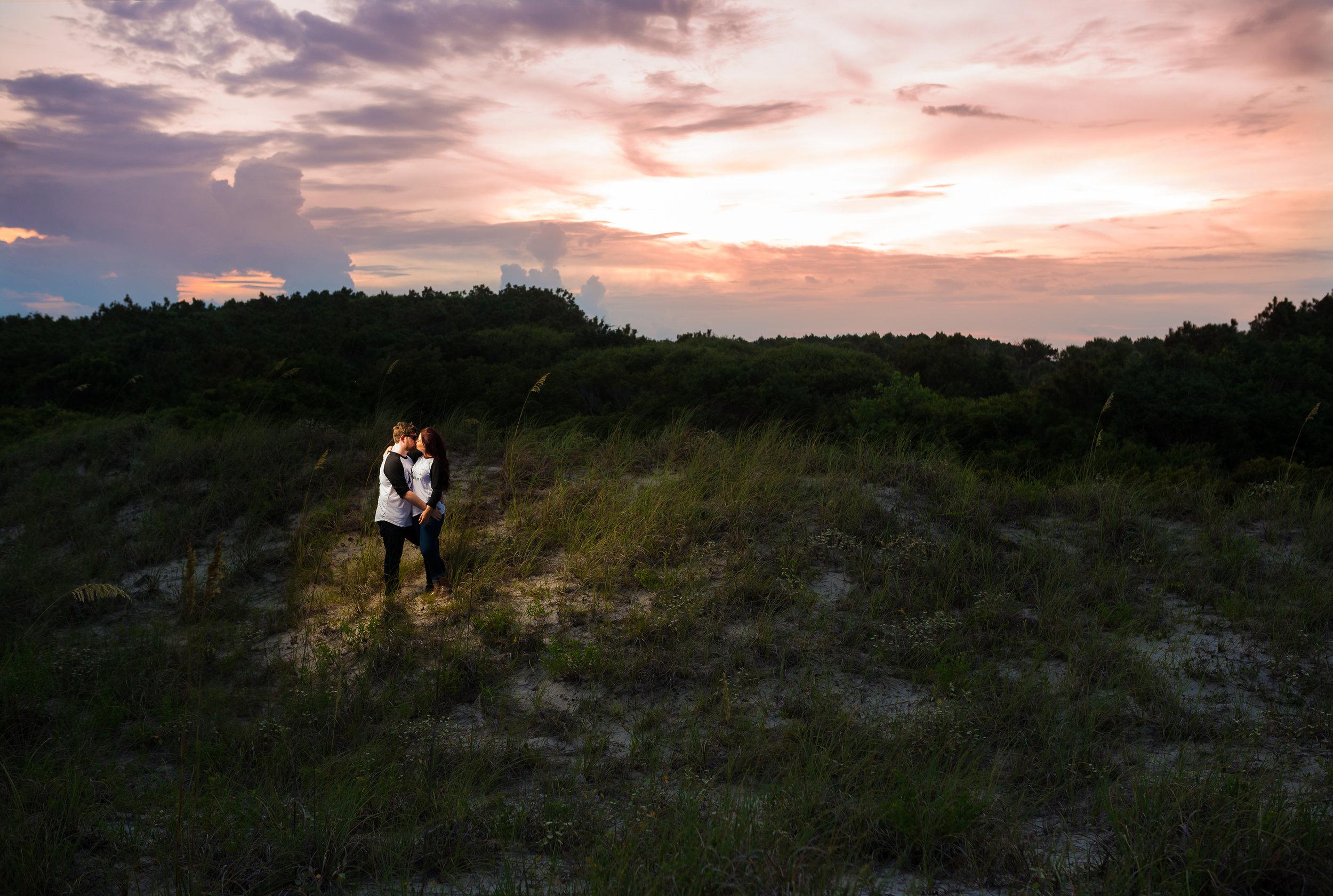 Kortney and Marc Huntington Beach State Park Engagement Session-201.jpg