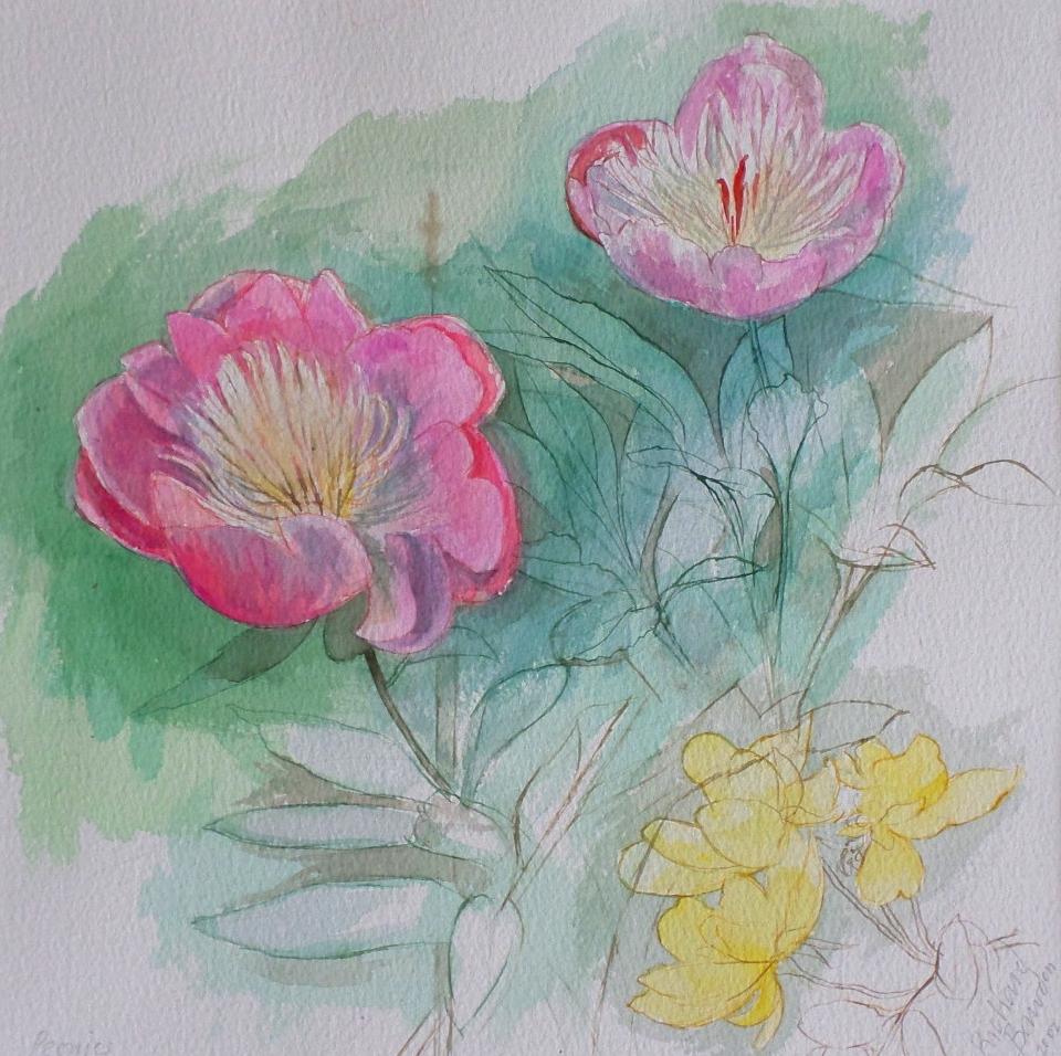 Richard Bawden watercolour