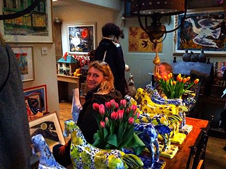 Mark Hearld & Emily Sutton Open Studio