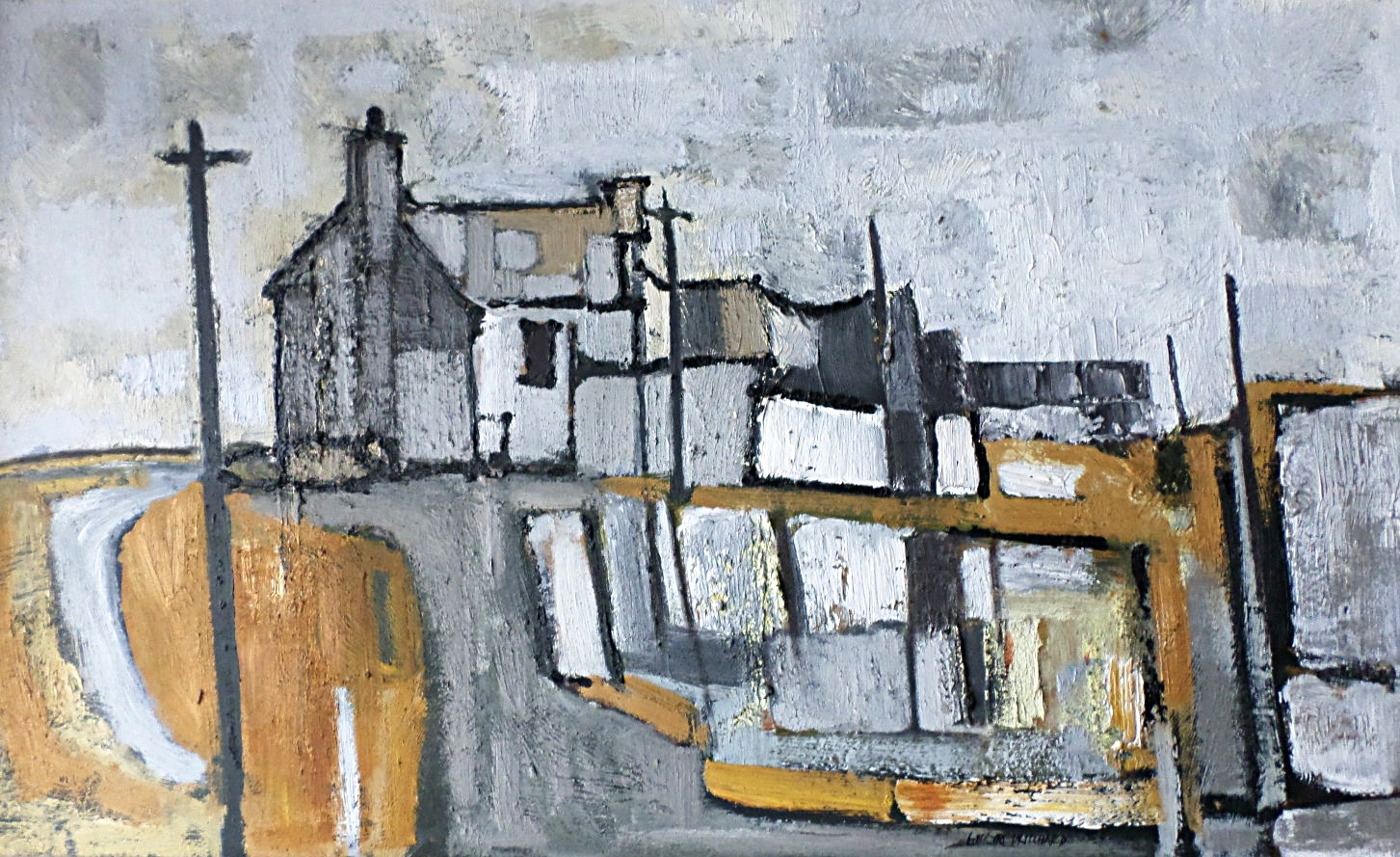 Gwilym Pritcchard Anglesey oil painting for sale