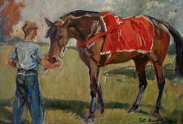 Peter Biegel oil painting