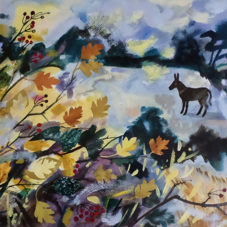 Hedgerow collage