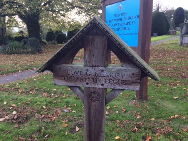 Arthur Legge's Grave