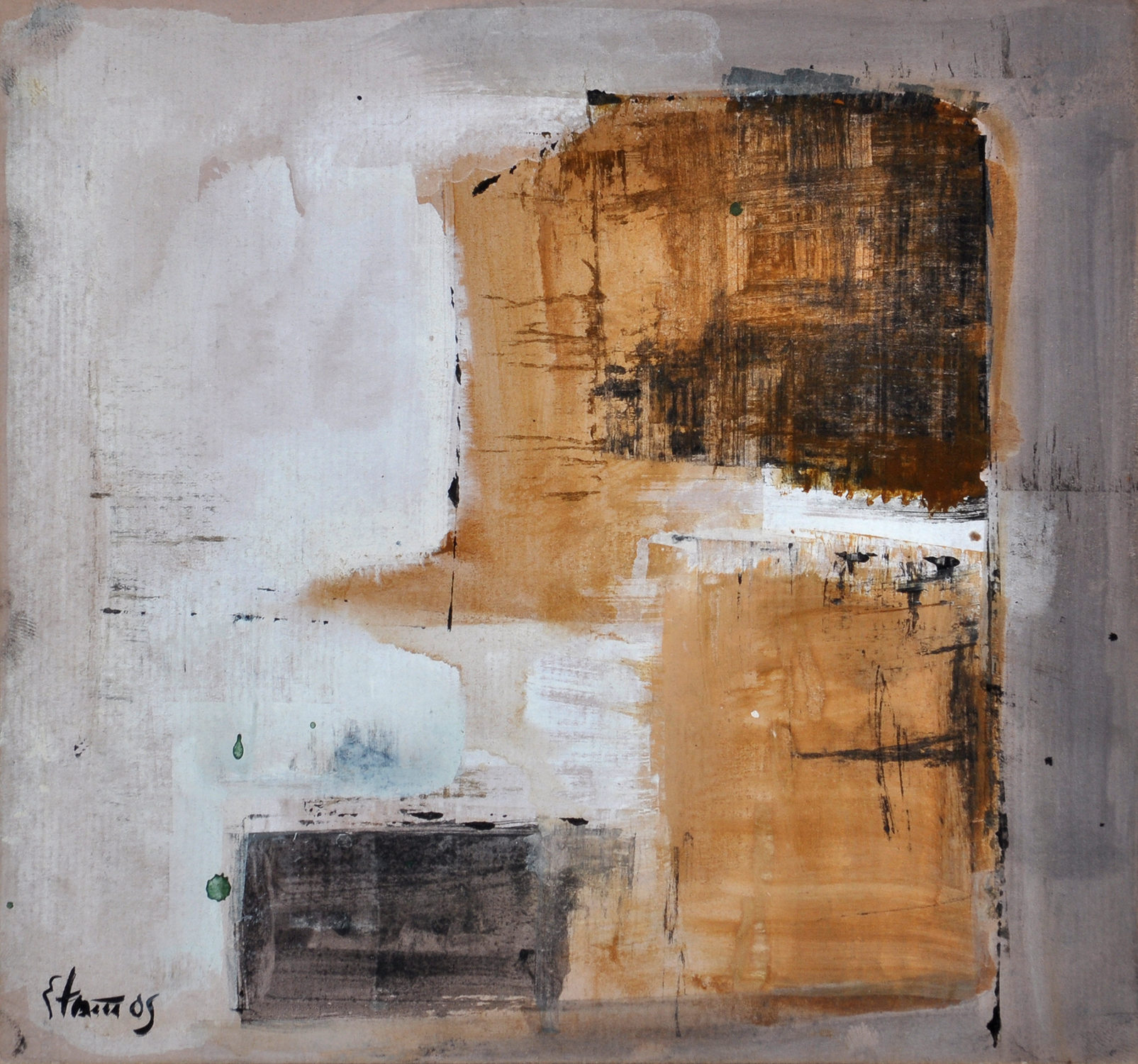 Theodoros Stamos abstract expressionist for sale