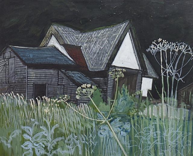 Walter Hoyle Gouache painting for sale
