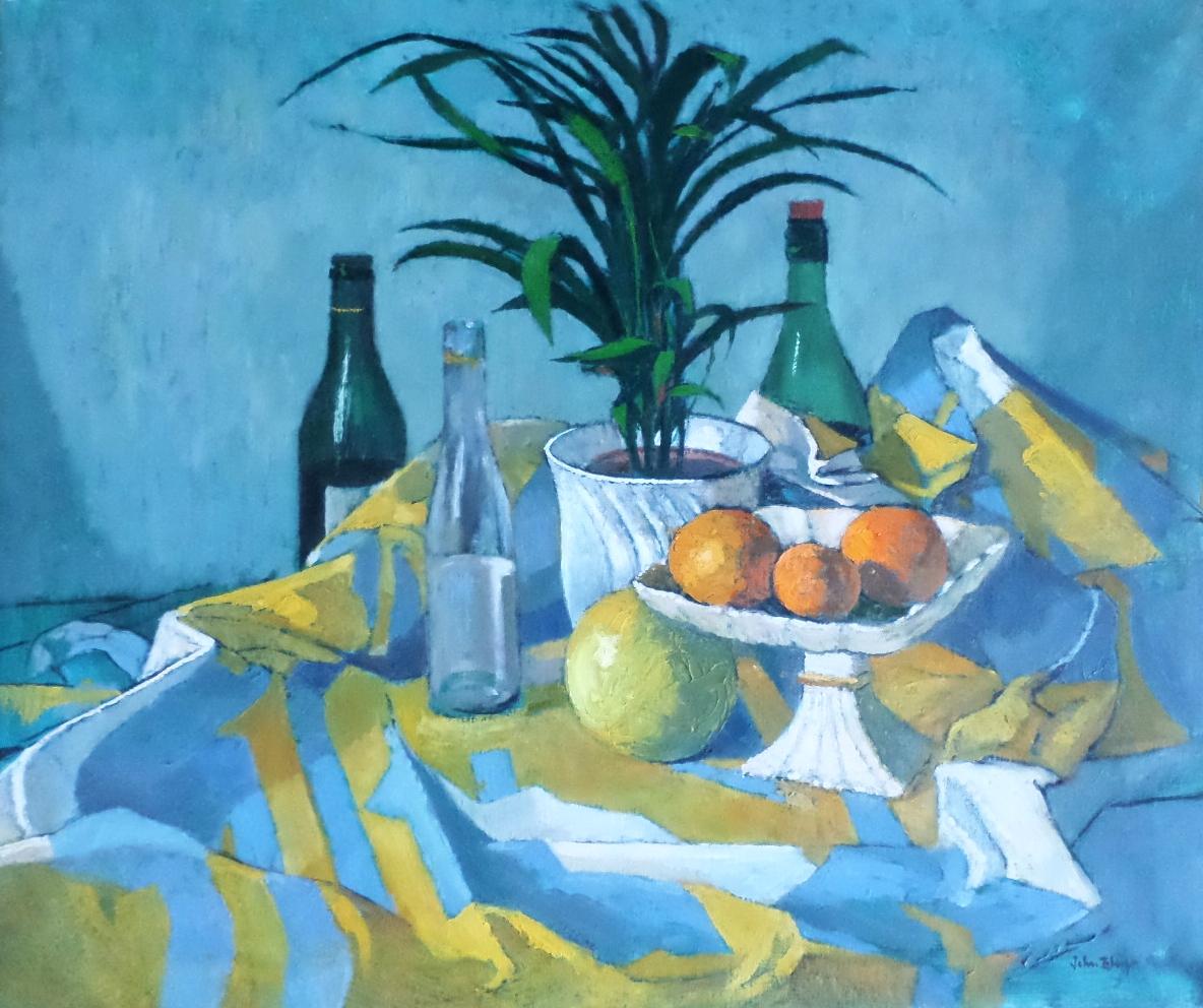 John Elwyn  oil painting
