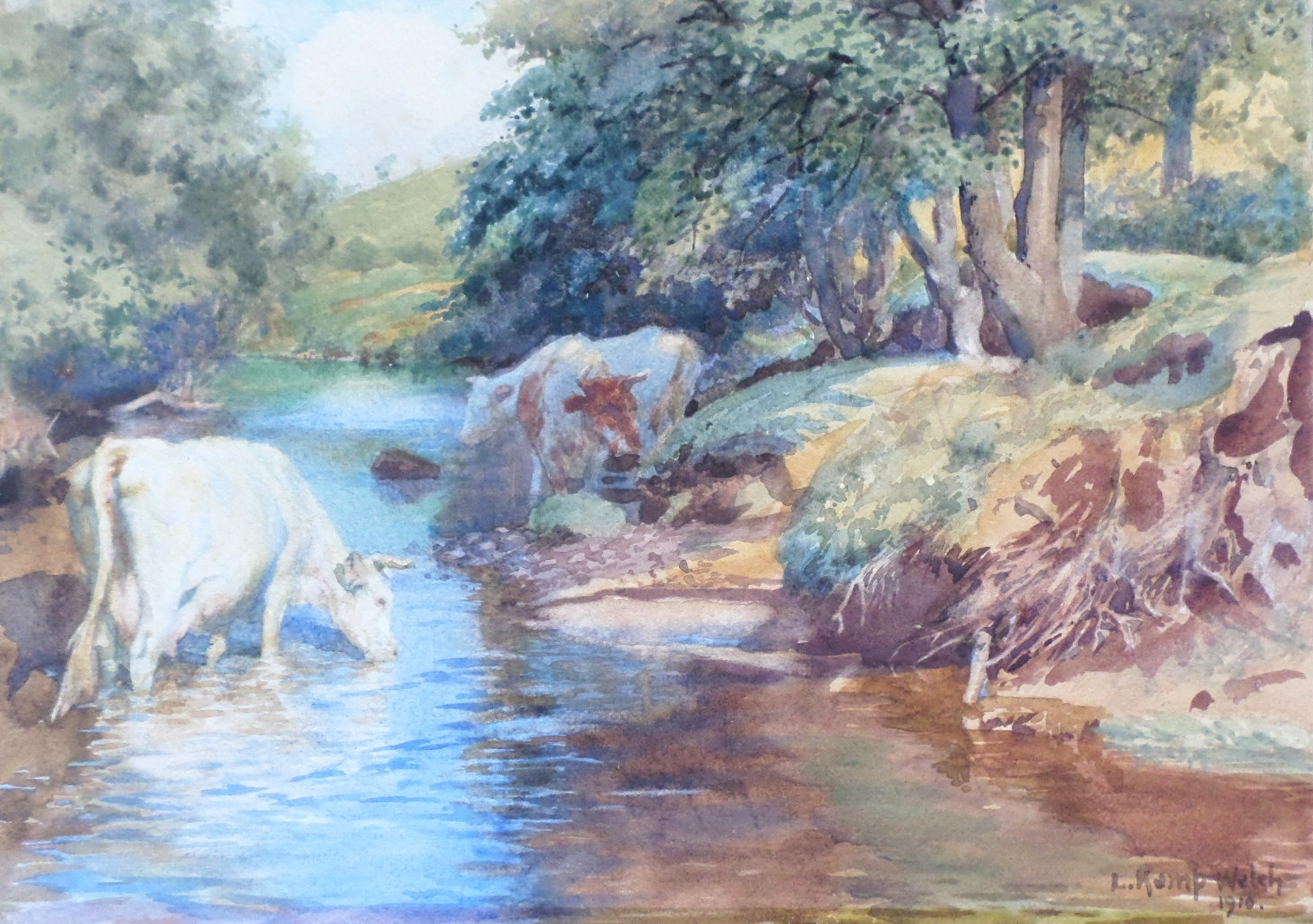 Lucy kemp welch painting