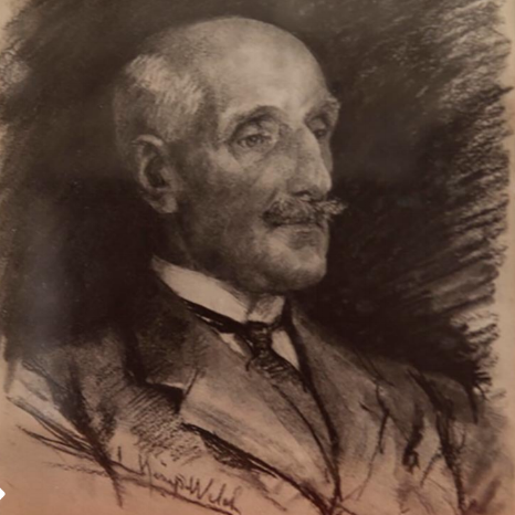 Lord Treowen by Lucy Kemp-Welch