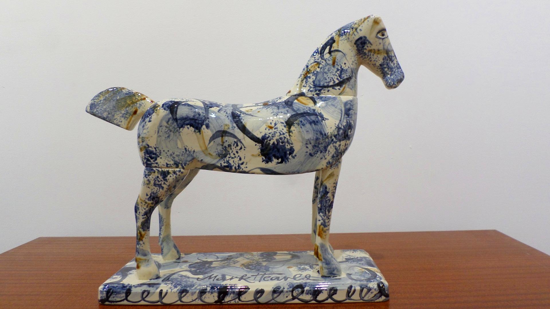 Mark Hearld ceramic horse
