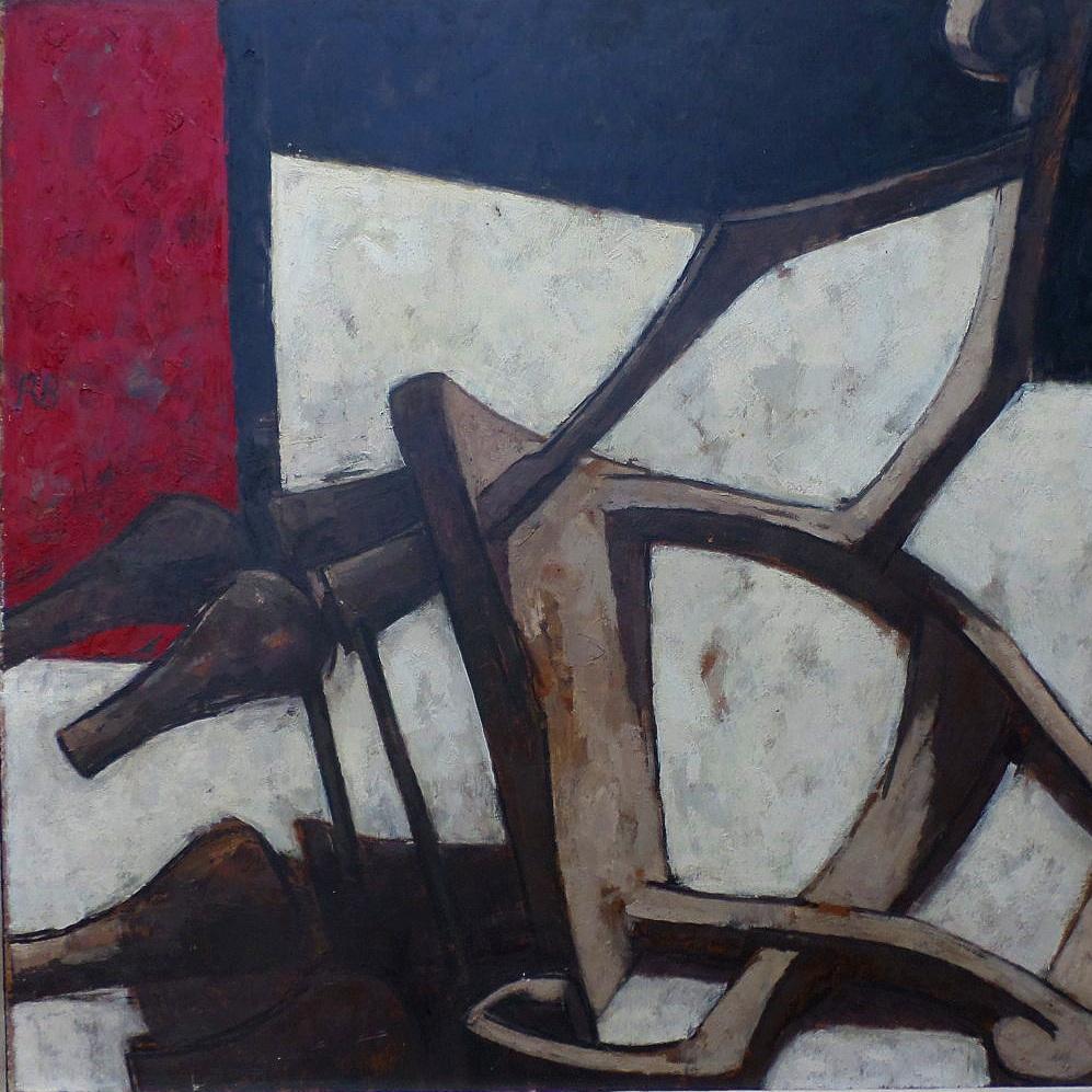 Fallen chair 1958