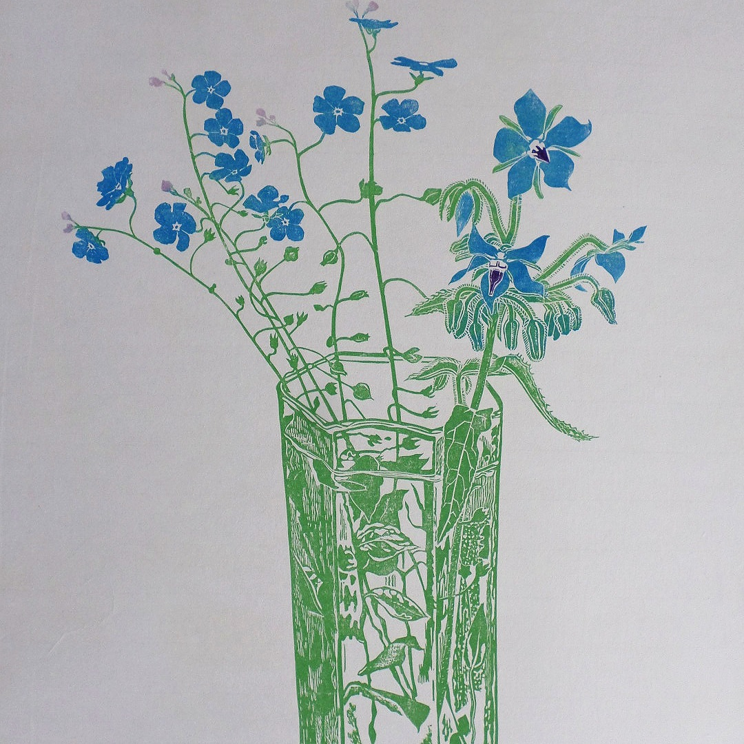 Blue Flowers 1971