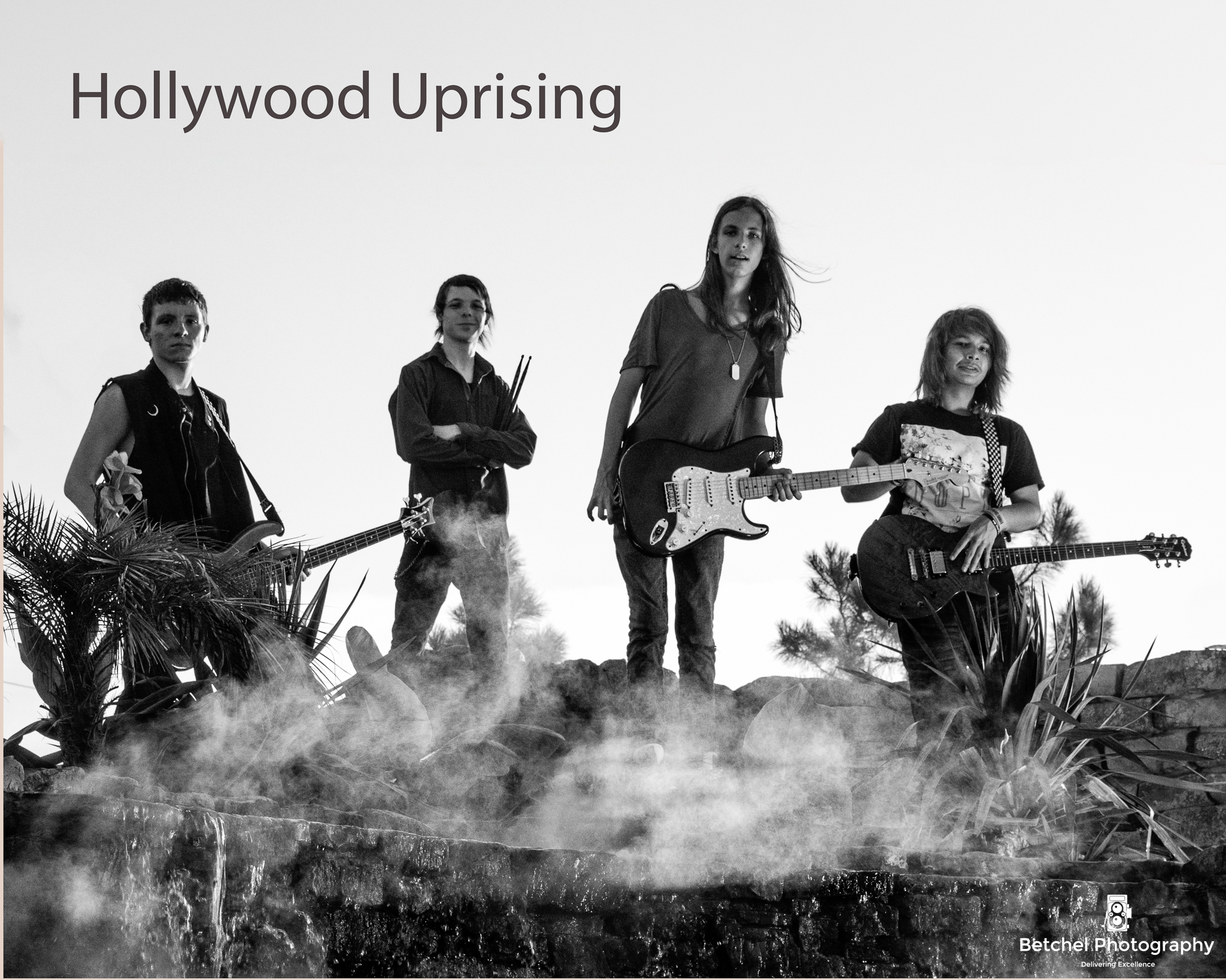 Photo session with Hollywood Uprising