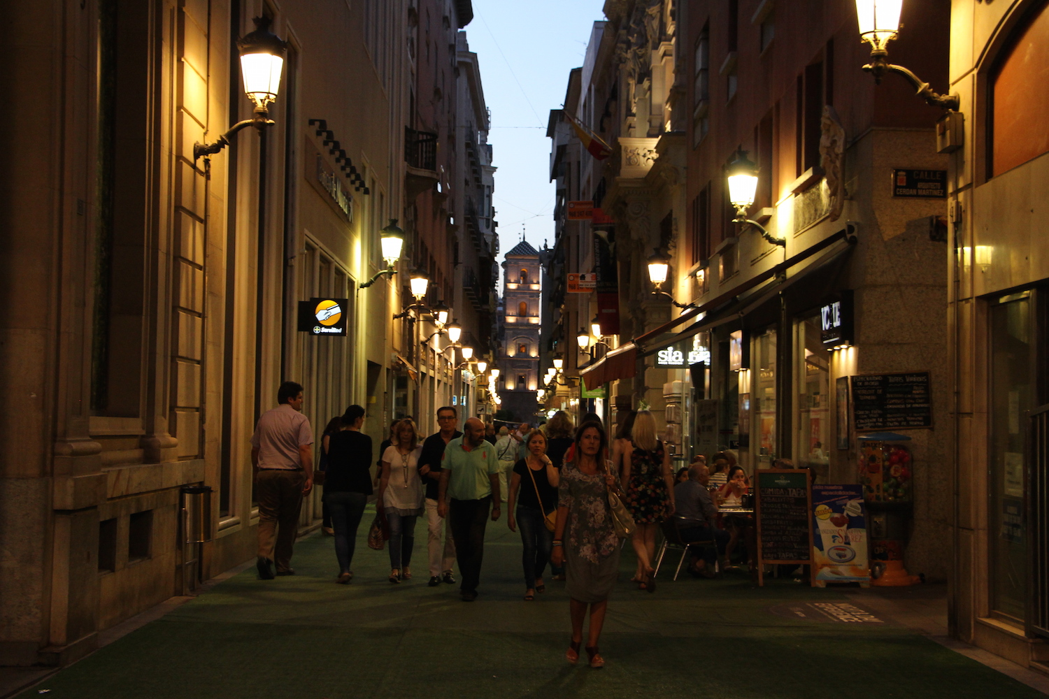 Murcia at Night.JPG