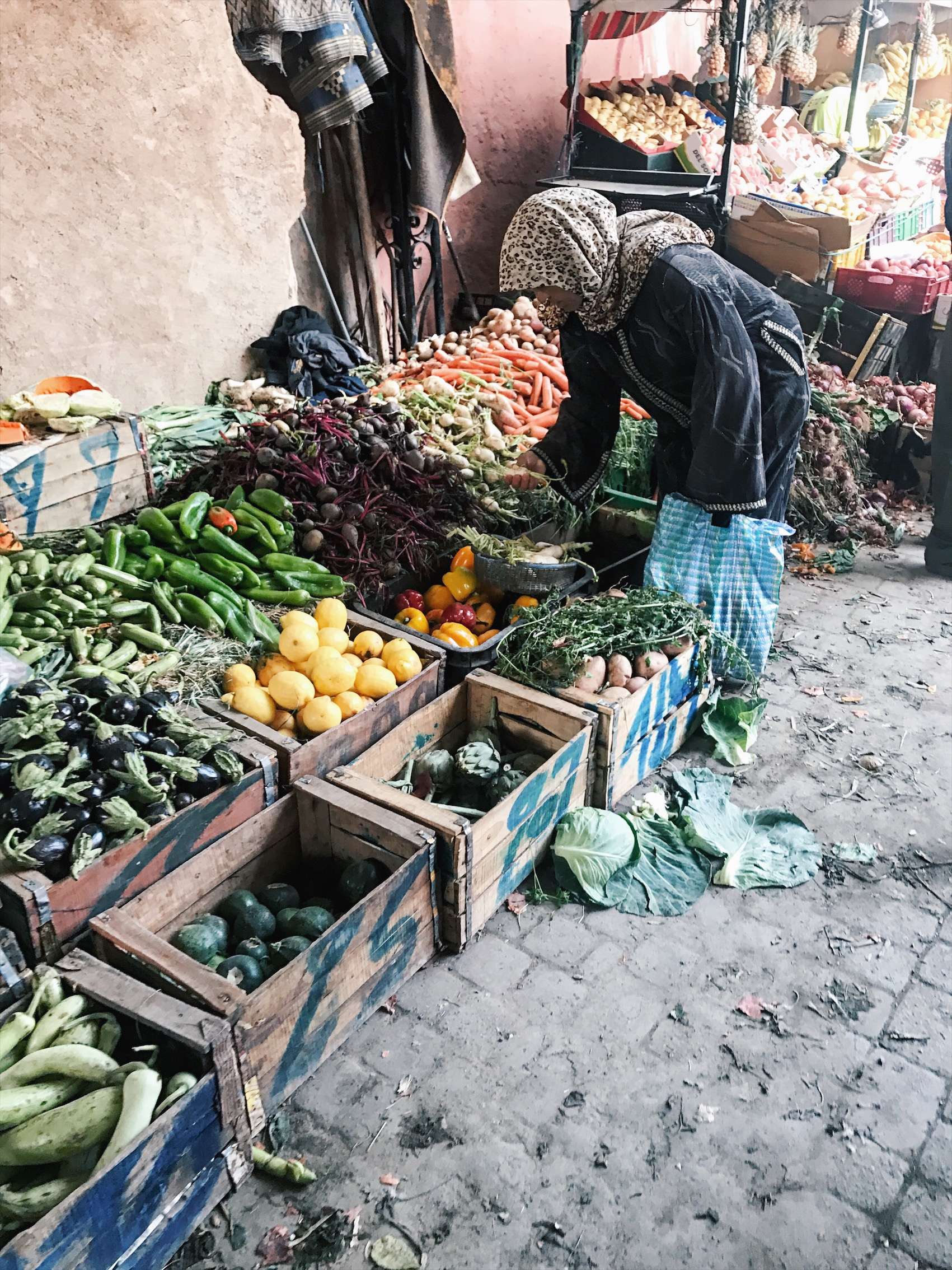 Woman with vegetables.JPG