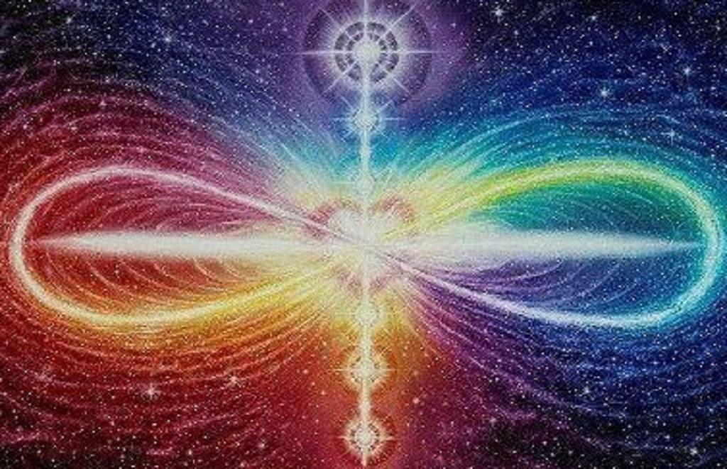 Le lien Vertical avec notre Âme et le lien horizontal avec l'autre. Le Nous et le Moi. L'Océan et la Vague.