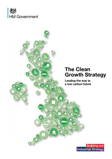Click on the image to find a pdf of the Clean Growth Strategy.