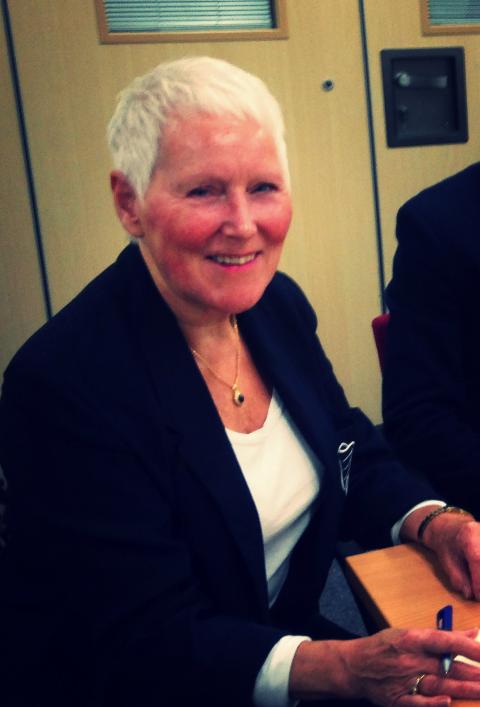 Liberal Democrat Councillor for Harrogate, Pat Marsh