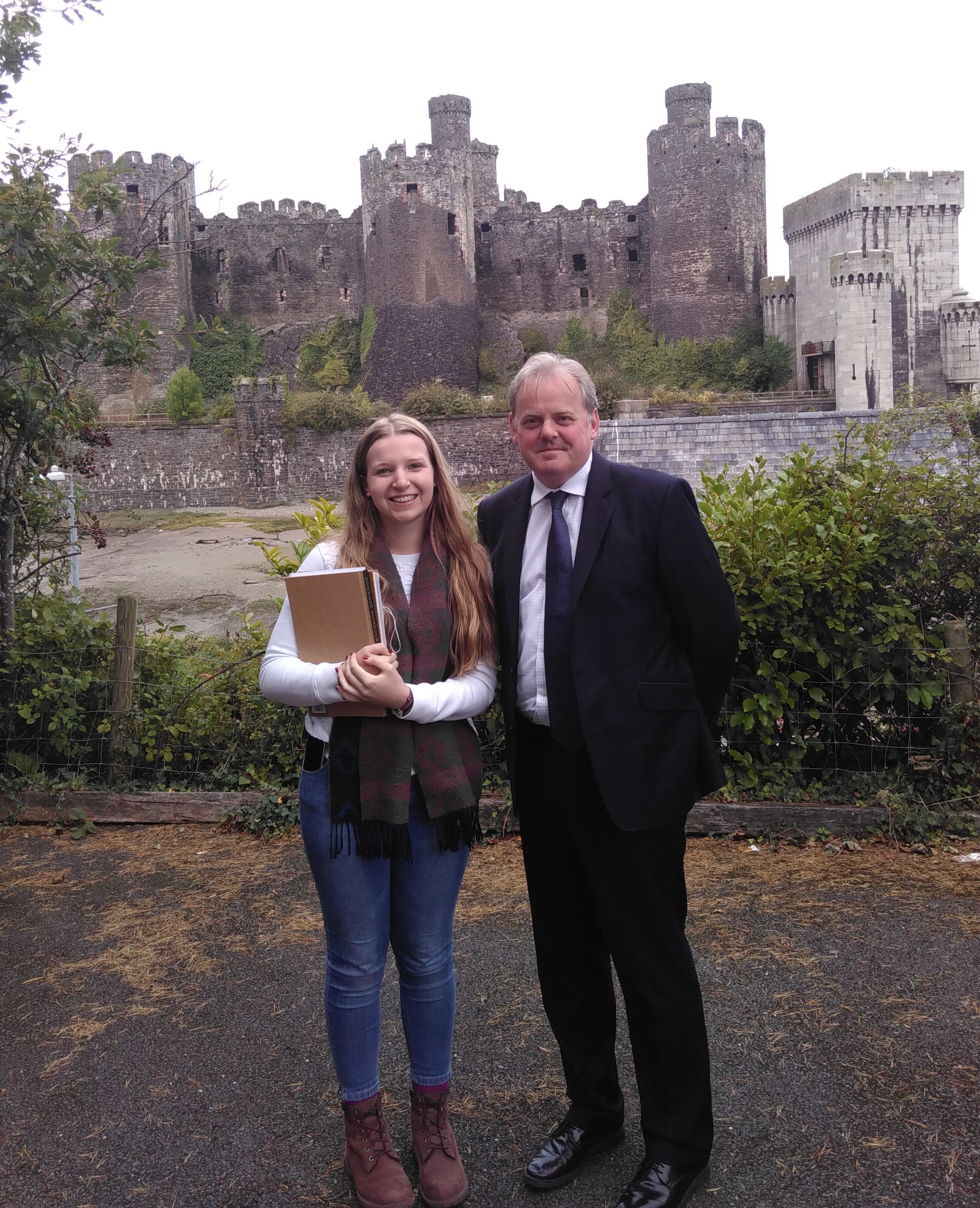 Laura D'Henin meets Guto Bebb, MP for Conwy.