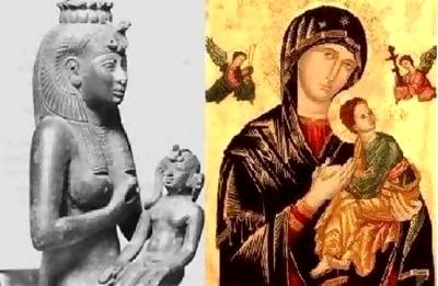 Isis, Mary, Maria