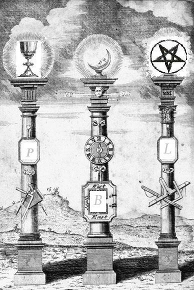 Grail, Shekinah and Star