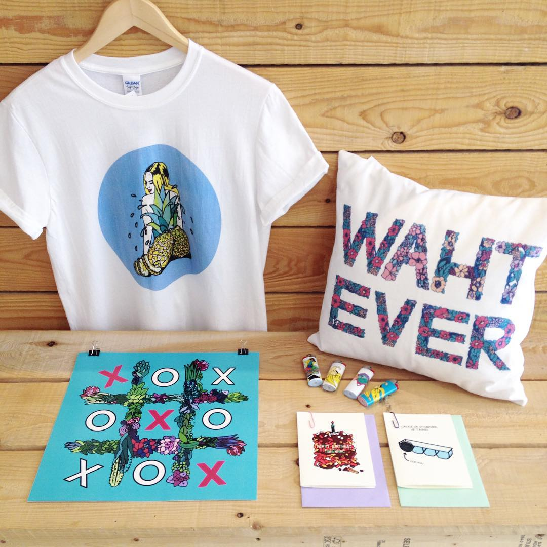 All Alice Zhang art work is now available at Citizen Vintage