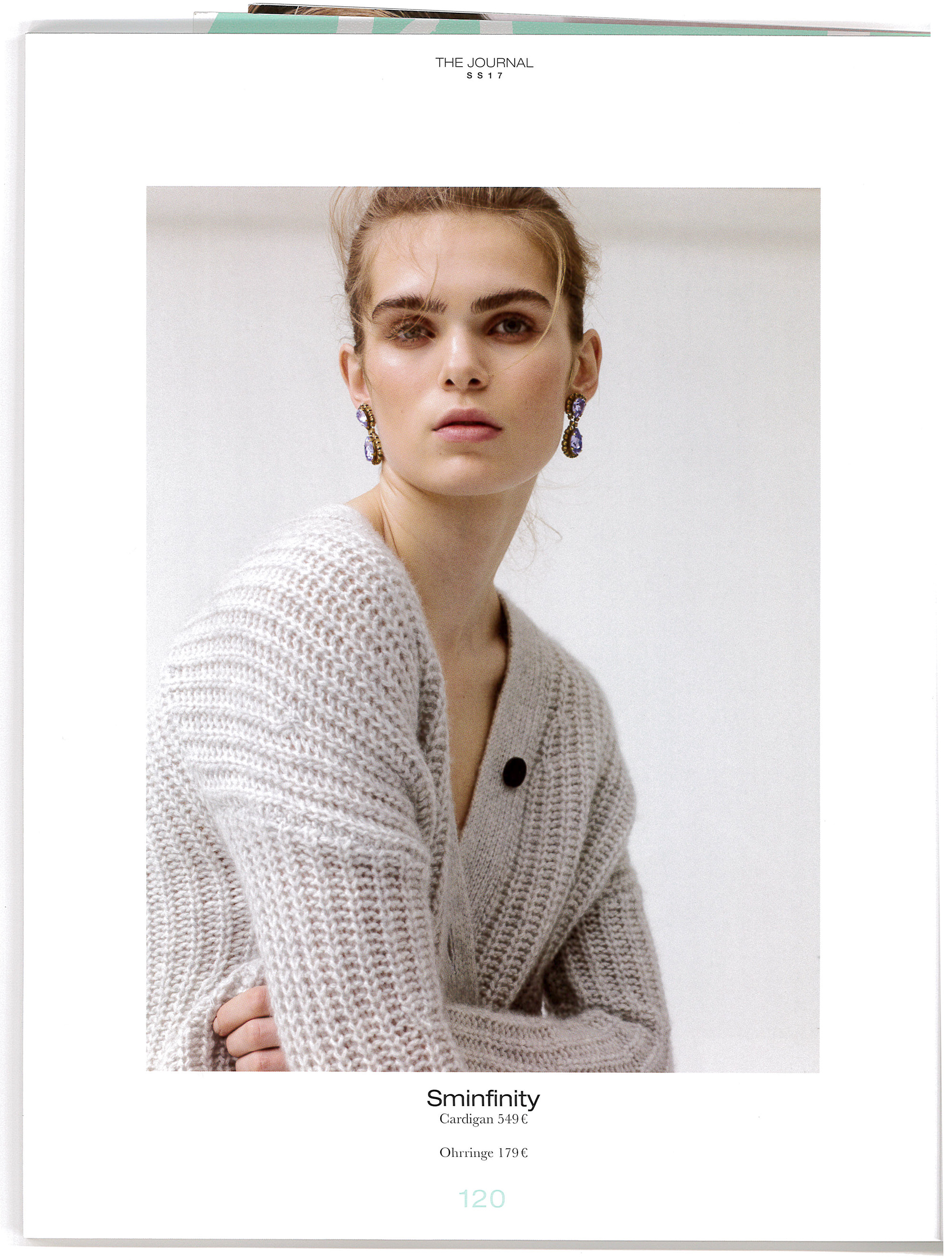 Sminfinity Cardigan 549€ featured in APROPOS, THE JOURNEL SS17