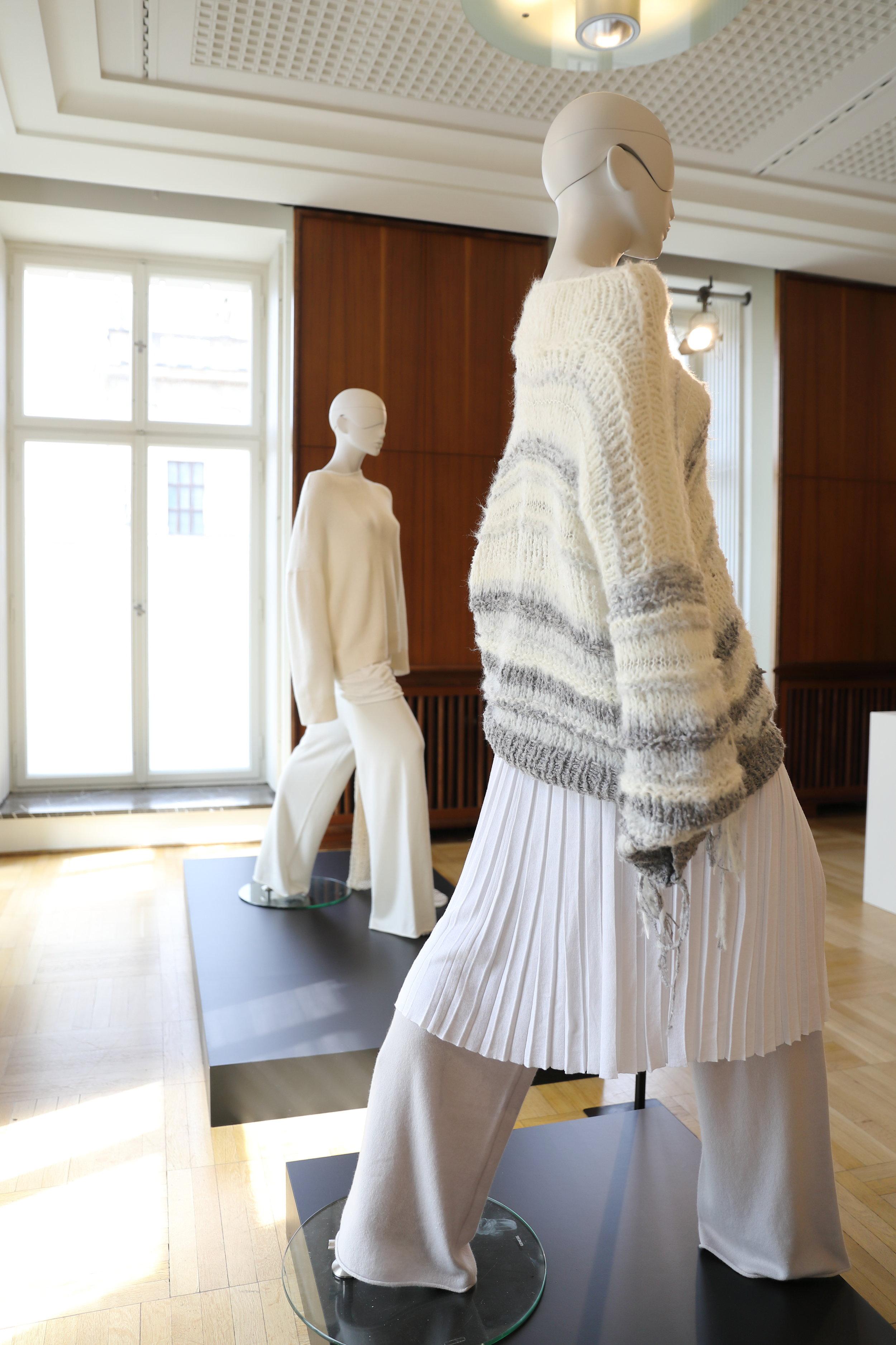 SMINFINITY auf dem Berliner Salon, Fashion Week Juli 2018, Spring Summer 2019. Knitwear Hamburg Germany, Foto: Holger Stoehrmann, mail@stoehrmann.com, 0177-6302754