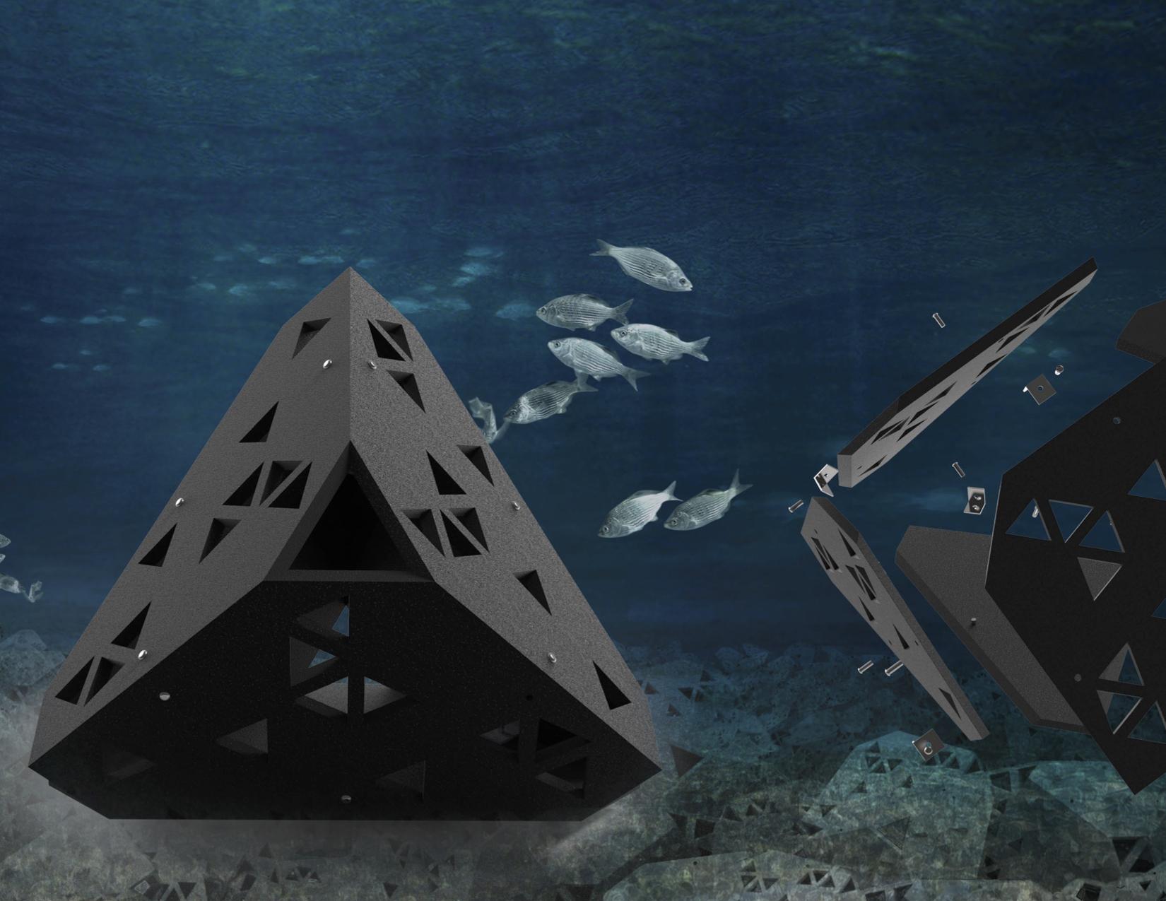 delta   sf artificial reef pod