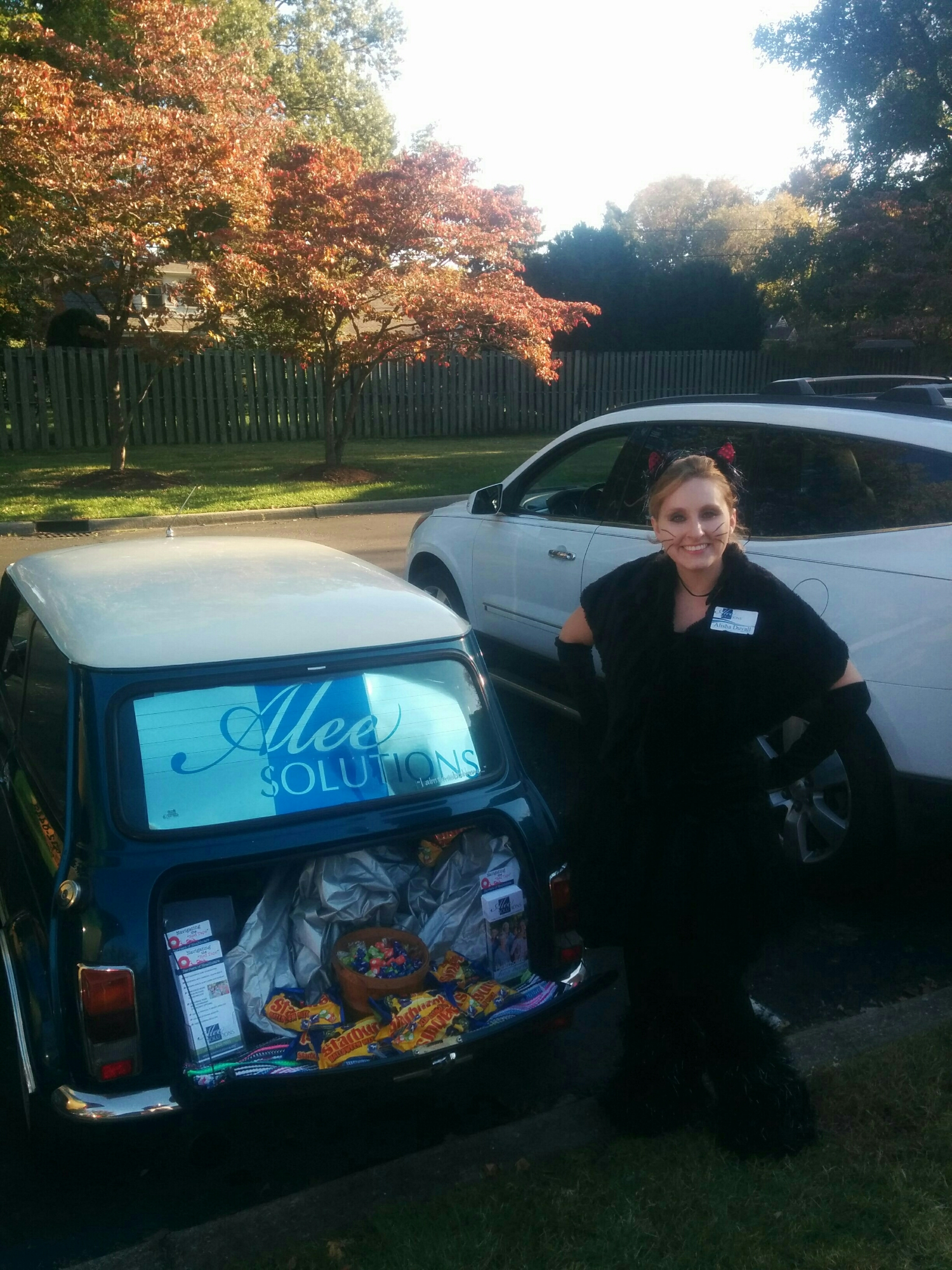 Trunk or Treat at Jefferson Place Nursing Rehab Center