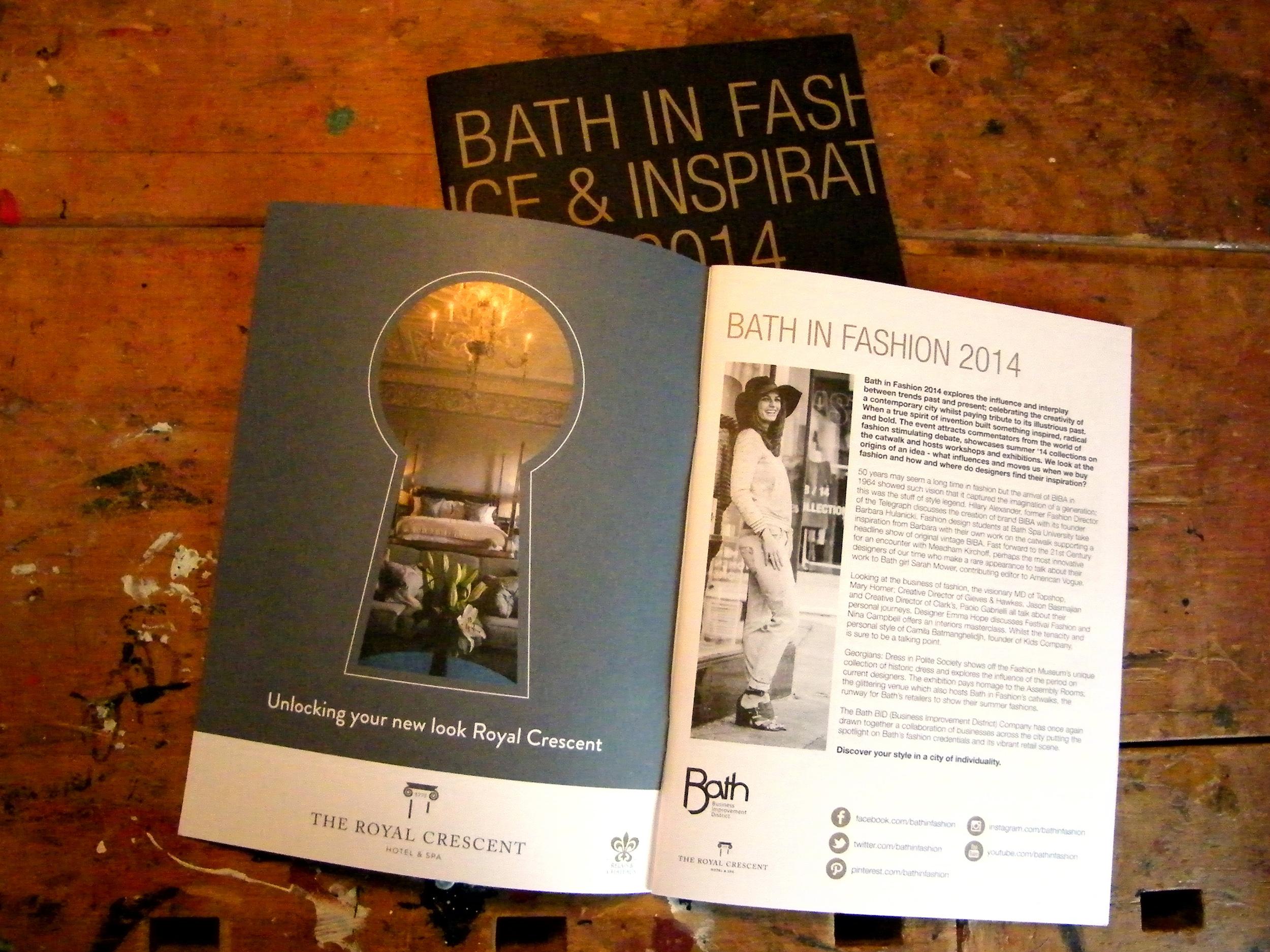 Bath in Fashion 2014
