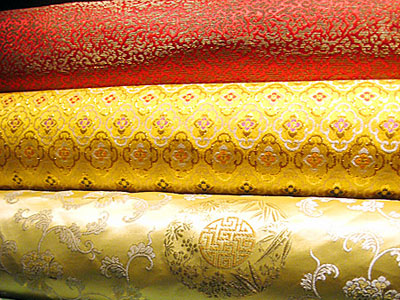 Silk has been beautifully crafted by the Chinese for thousands of years