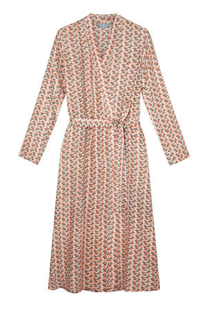 The Ethical Silk Co - Coral Print SilkRobe - Low Res.jpg