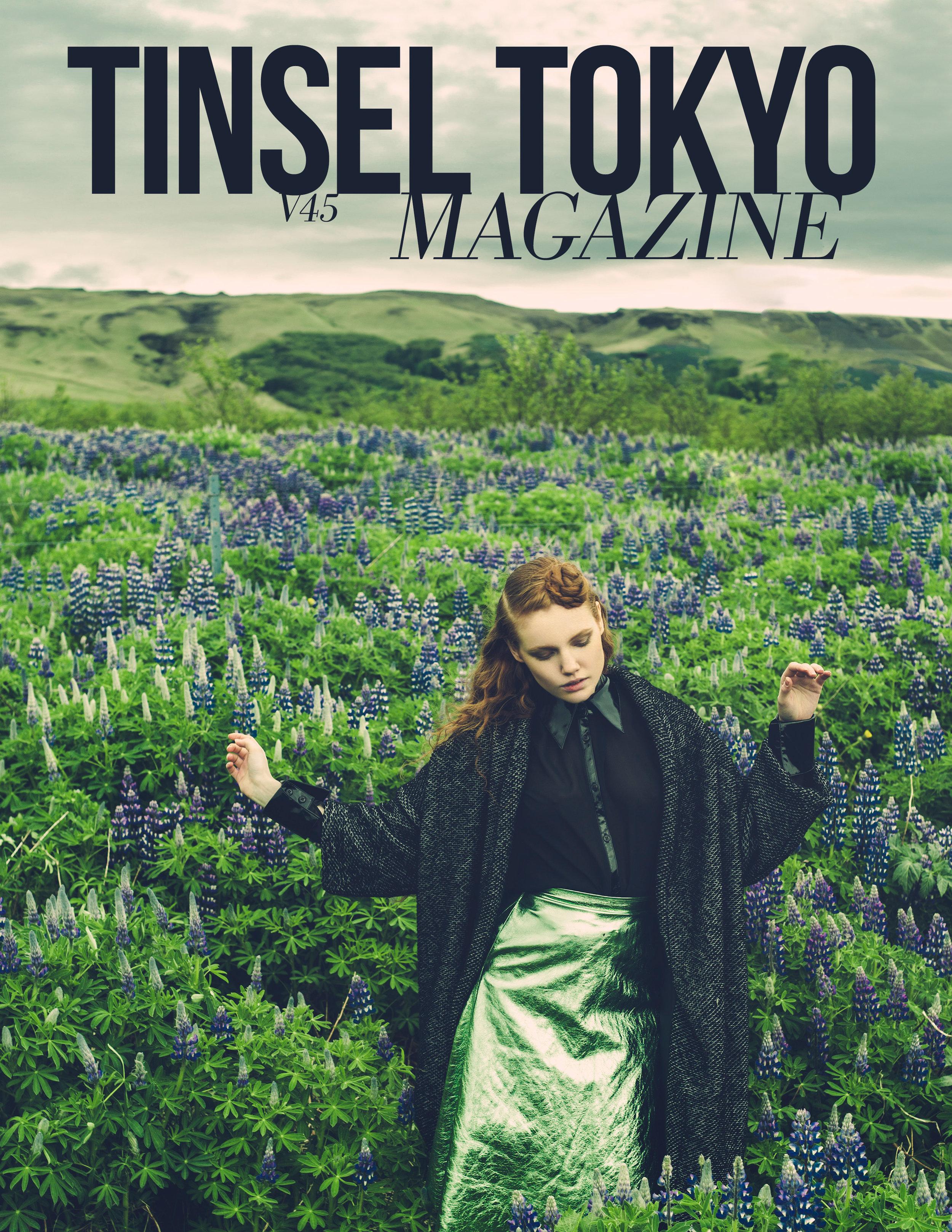 Tinsel Tokyo Magazine Cover