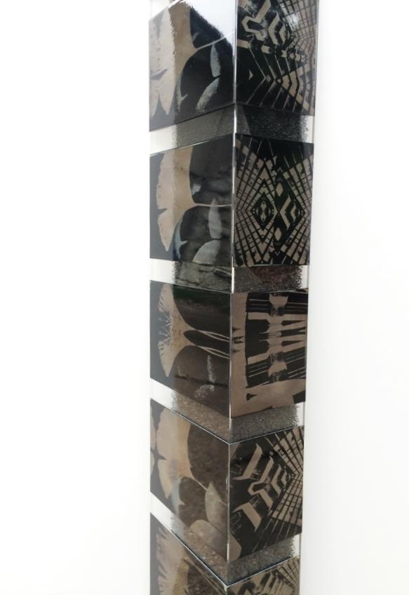 """""""Tower"""" (detail). Amy Rockett-Todd 2014."""