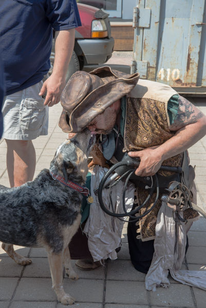 Jack the Wonder Dog jumped to the rescue and there were happy endings all around.
