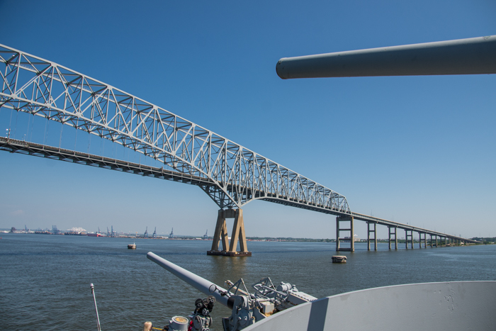 You will see the  Key Bridge  as we go underneath it!