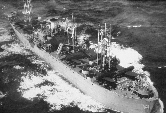 Six Liberty ships, among other ships, were converted by the Air Force into floating aircraft repair depots in April 1944. Ivory Soap is the name of this top secret project. The ships were in the Pacific Theater and provided support to the B-29s bombers and the P-51s that protected them.