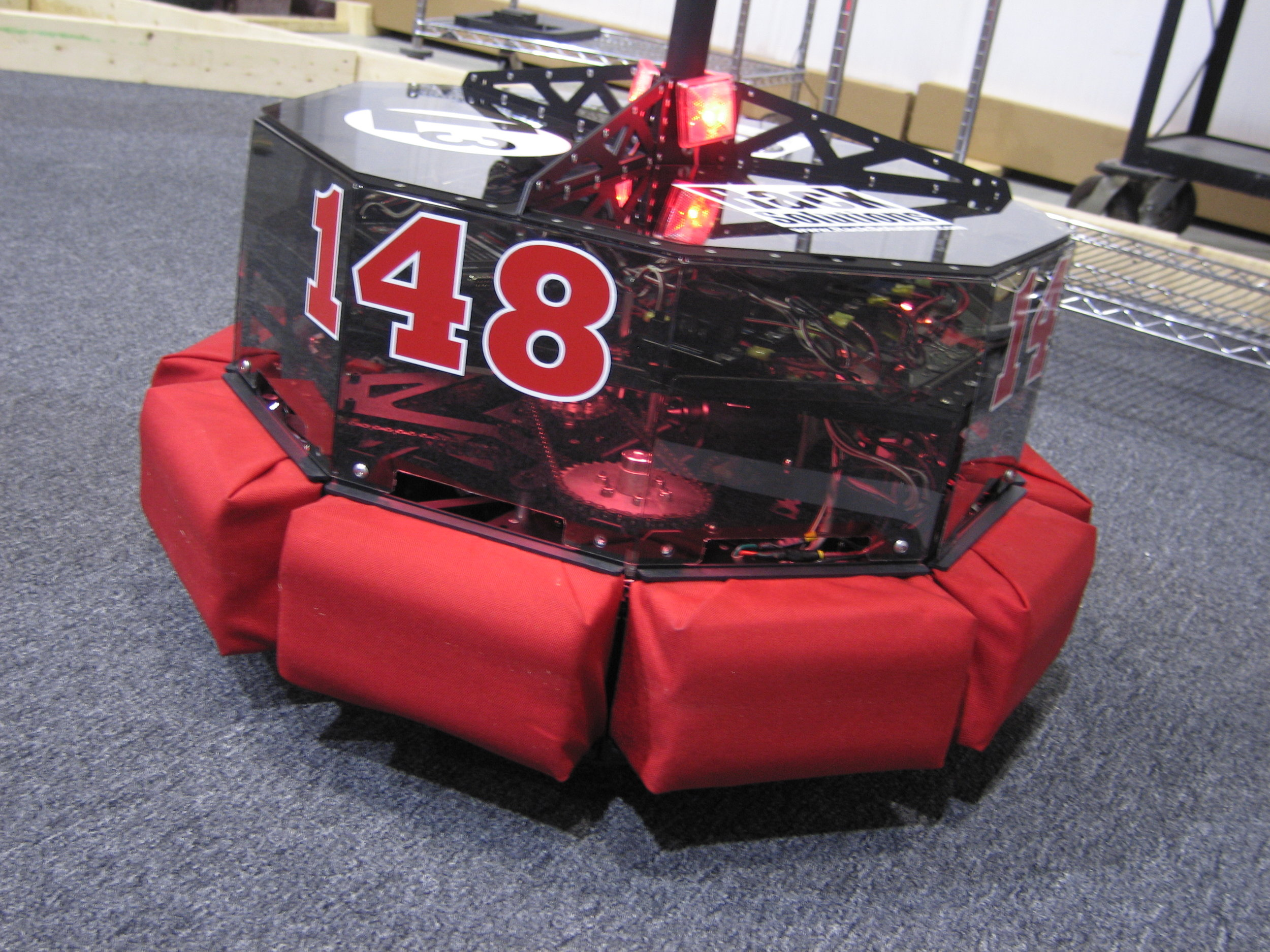This little lap robot is a 2008 World Champion.  Though, it did not succeed at #1 or #2.