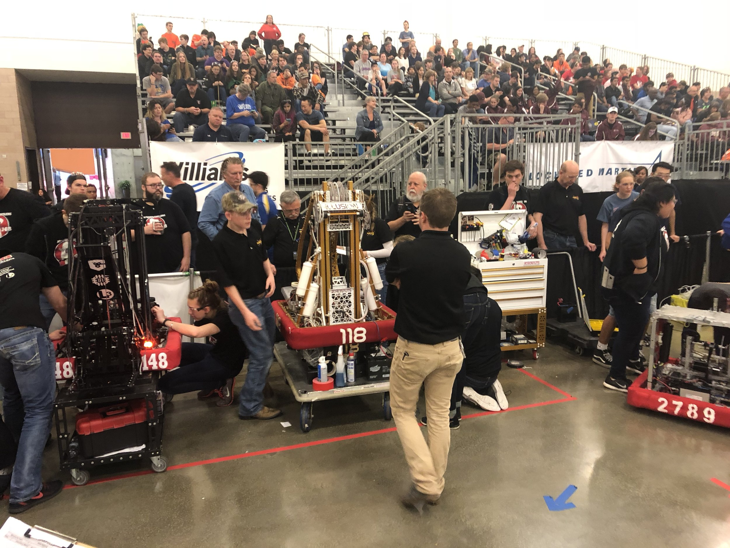 Dallas 2018 - Alliance #1 Ready for Battle