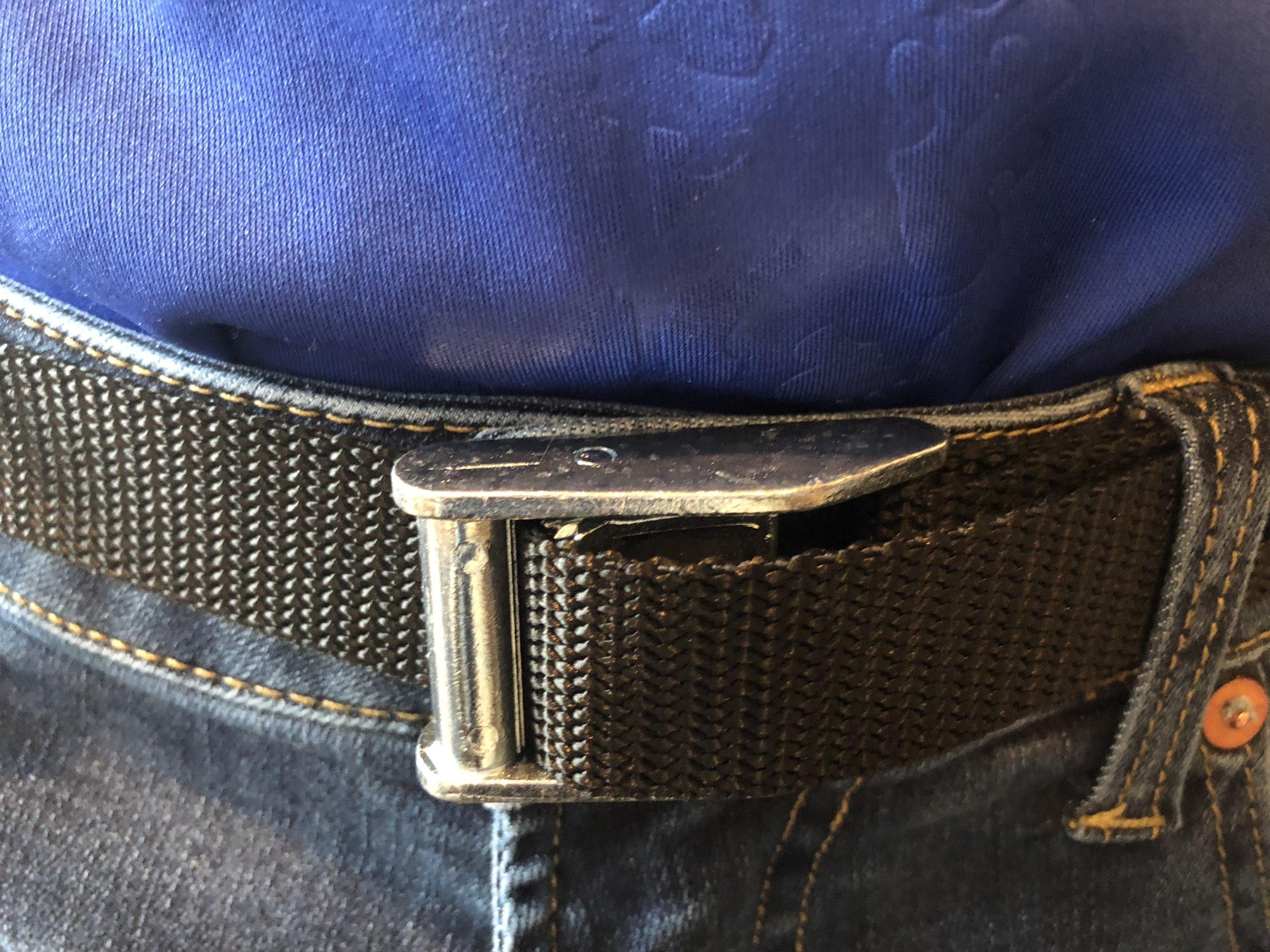 Apparently the Wrangler Straps make a good belt?