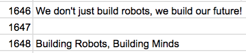 "1647: ""We just build robots... nothing else."" - C'mon, this is your chance!"