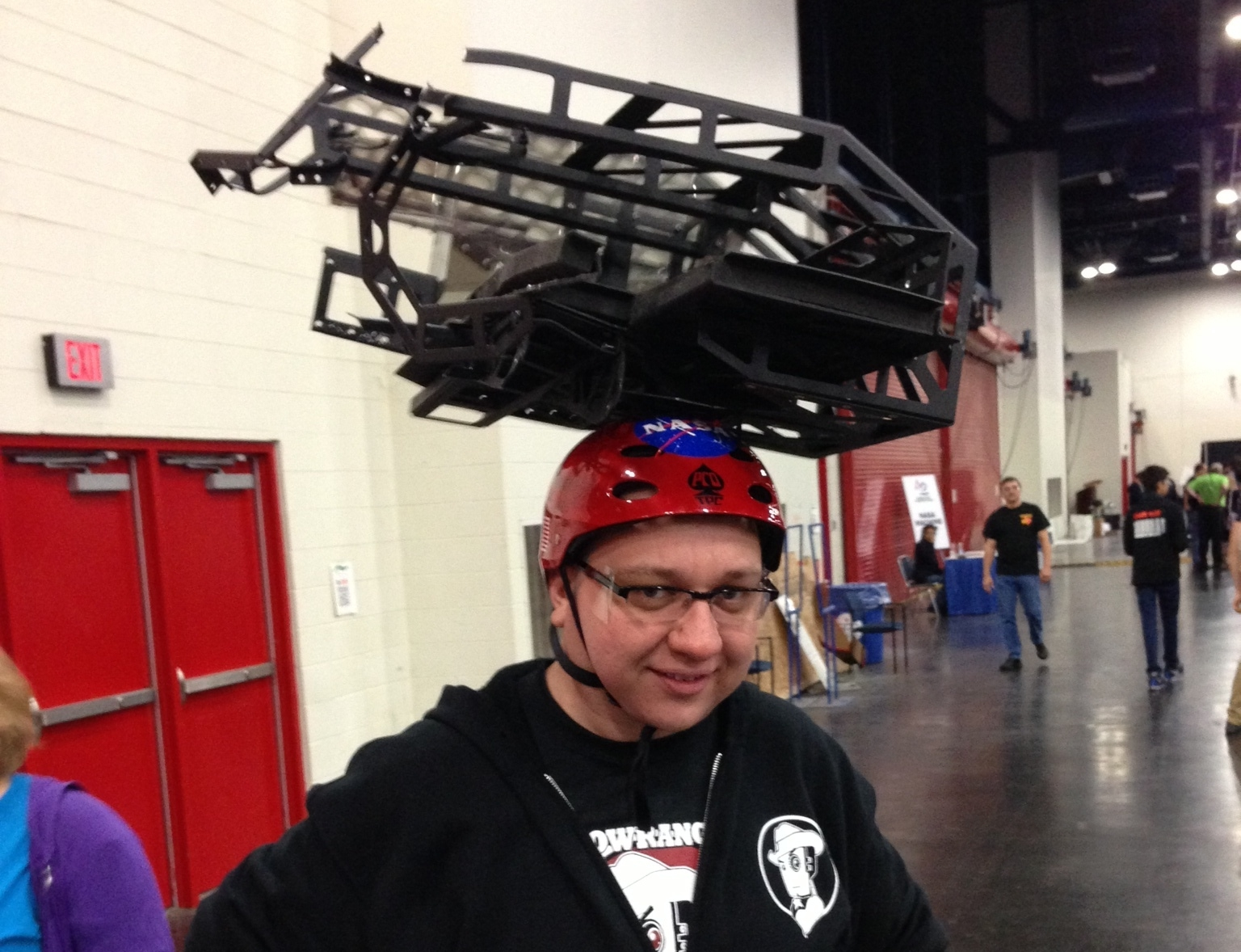 """The """"Full Court Shooter Hat"""" from Lonestar 2013"""