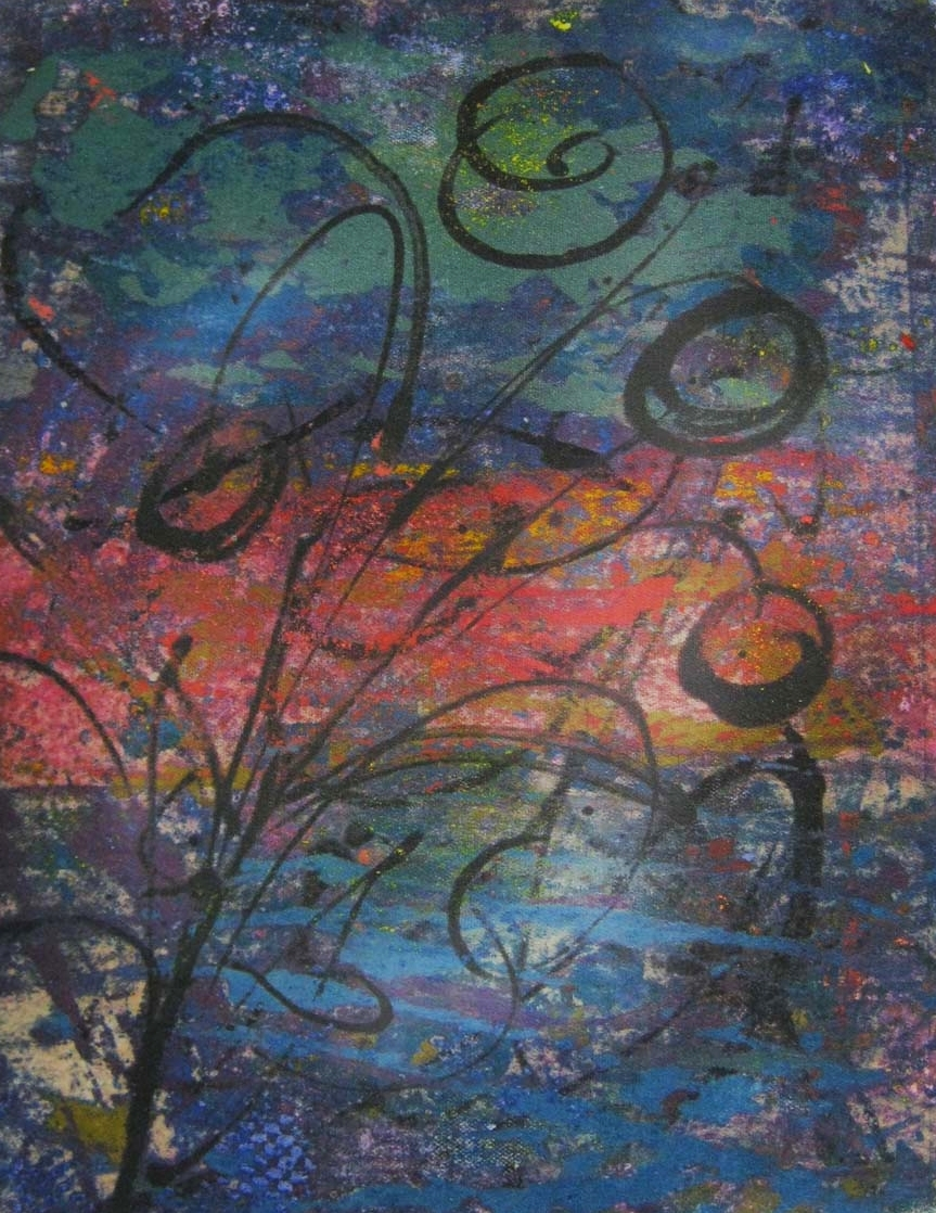 Colleen Lucas,  Untitled,  clay monoprint, $220
