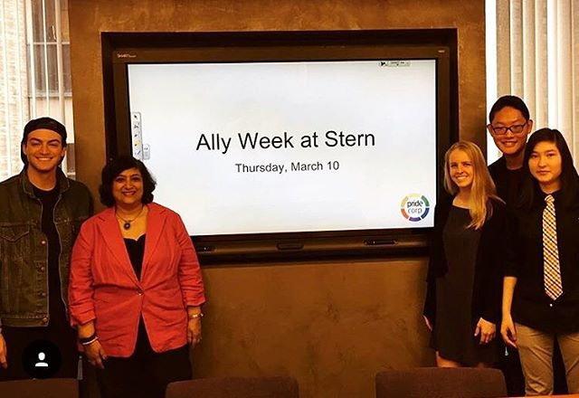 Repost from @geeta_menon: Such a pleasure to be working with the amazing @geeta_menon for Ally Week! Stay tuned to hear more about our upcoming events related to Ally Week!