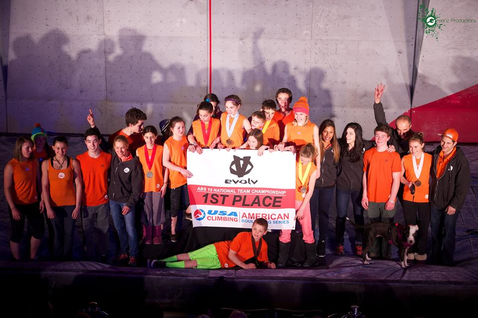 We were Bouldering National Champs this Year! Photo by Greenz Productions
