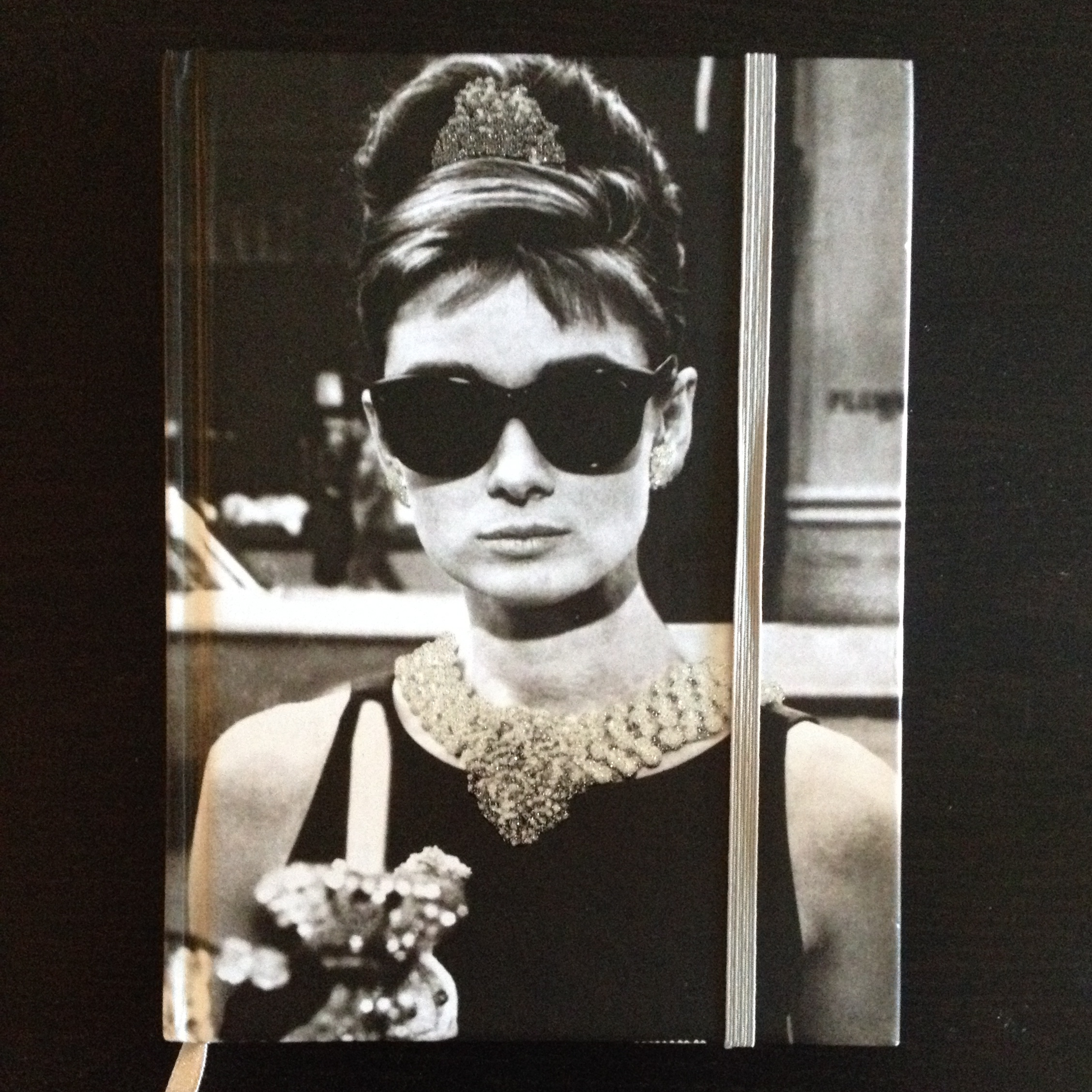 I wasn't kidding about my journal... I just love Audrey!