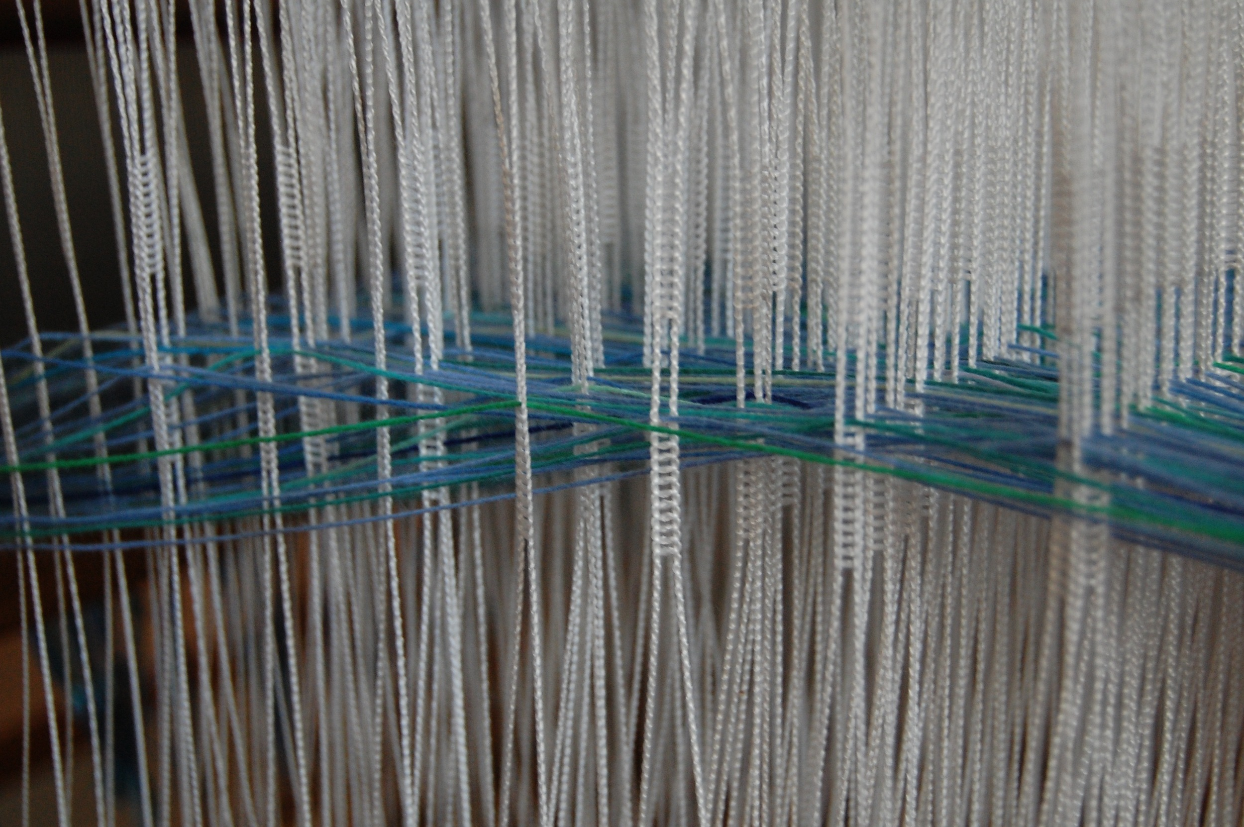 All the beautiful heddles