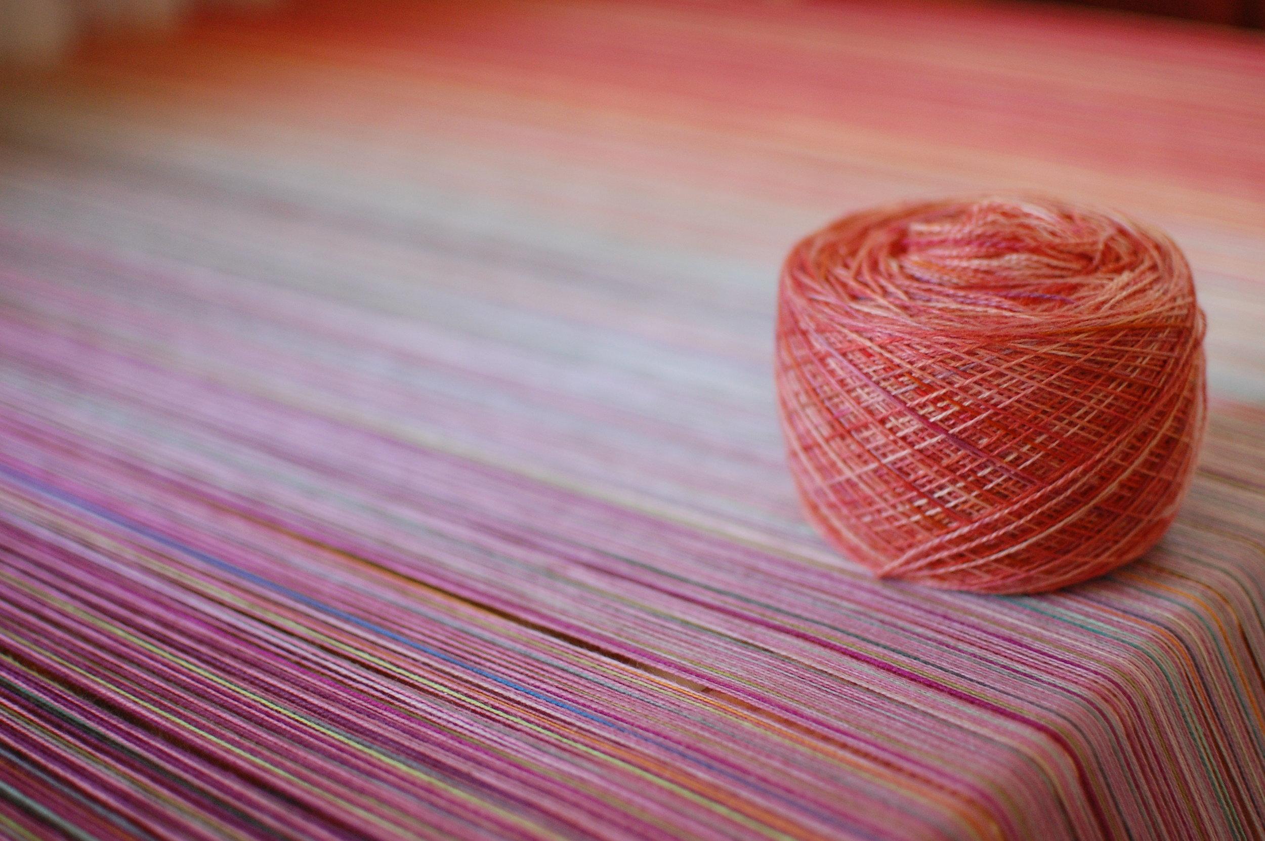 Phydeaux Designs Nectar 80% Superfine merino wool/20% silk